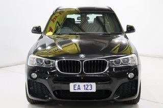 2015 BMW X3 F25 LCI MY0414 xDrive20d Steptronic Black 8 Speed Automatic Wagon.