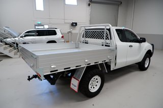 2015 Mazda BT-50 UP0YF1 XT Freestyle 4x2 Hi-Rider White 6 Speed Sports Automatic Cab Chassis