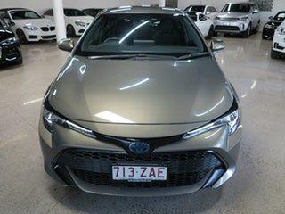 2019 Toyota Corolla ZWE211R Ascent Sport E-CVT Hybrid Bronze 10 Speed Constant Variable Hatchback.
