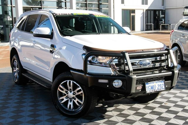 Used Ford Everest UA 2018.00MY Trend Attadale, 2018 Ford Everest UA 2018.00MY Trend White 6 Speed Sports Automatic SUV