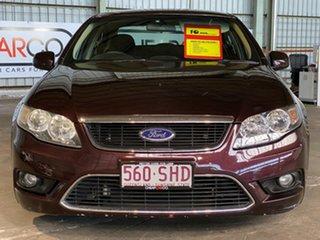 2009 Ford Falcon FG G6 Maroon 5 Speed Sports Automatic Sedan
