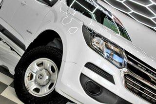 2016 Holden Colorado RG MY17 LS (4x4) White 6 Speed Manual Crew Cab Pickup.