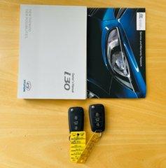 2014 Hyundai i30 GD Active Tourer Blue 6 Speed Sports Automatic Wagon