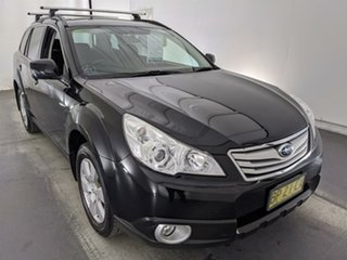 2012 Subaru Outback B5A MY12 2.5i Lineartronic AWD Premium Black 6 Speed Constant Variable Wagon.