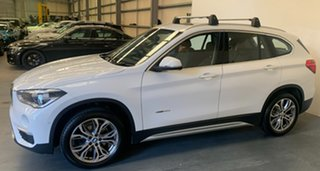 2017 BMW X1 F48 sDrive18d Steptronic Alpine White 8 Speed Sports Automatic Wagon