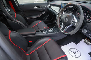 2015 Mercedes-Benz GLA-Class X156 805+055MY GLA45 AMG SPEEDSHIFT DCT 4MATIC Mountain Grey 7 Speed.