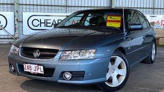 2006 Holden Commodore VZ MY06 SVZ Blue 4 Speed Automatic Sedan.
