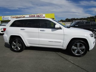 2013 Jeep Grand Cherokee WK MY2013 Overland White 6 Speed Sports Automatic Wagon