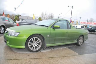 2003 Holden Commodore VY SS Green 4 Speed Automatic Utility.