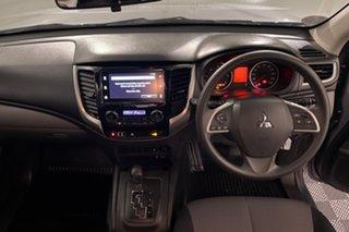 2018 Mitsubishi Triton MQ MY18 GLX+ Double Cab Grey 5 speed Automatic Utility