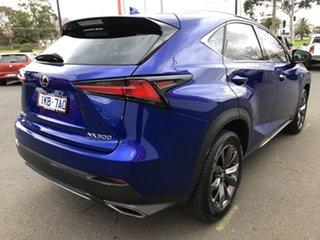 2018 Lexus NX300 AGZ10R MY17 F-Sport (FWD) Blue 6 Speed Automatic Wagon