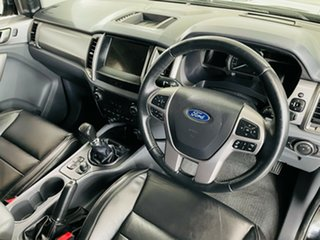 2017 Ford Ranger PX MkII XLT Double Cab Black 6 Speed Manual Utility