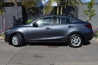 2018 Mazda 2 DL2SAA Maxx SKYACTIV-Drive Grey 6 Speed Sports Automatic Sedan.