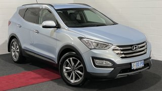 2014 Hyundai Santa Fe DM MY14 Elite Glacier Silver 6 Speed Sports Automatic Wagon.