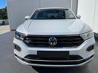 2021 Volkswagen T-ROC A1 MY21 140TSI DSG 4MOTION Sport White Silver 7 Speed.