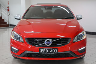 2015 Volvo S60 F Series MY15 T5 Adap Geartronic R-Design Red 8 Speed Sports Automatic Sedan