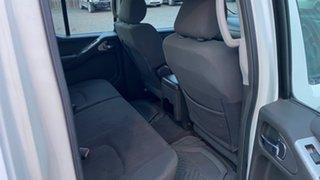 2006 Nissan Navara D40 ST-X (4x4) White 6 Speed Manual Dual Cab