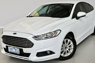 2016 Ford Mondeo MD Ambiente White 6 Speed Sports Automatic Dual Clutch Hatchback