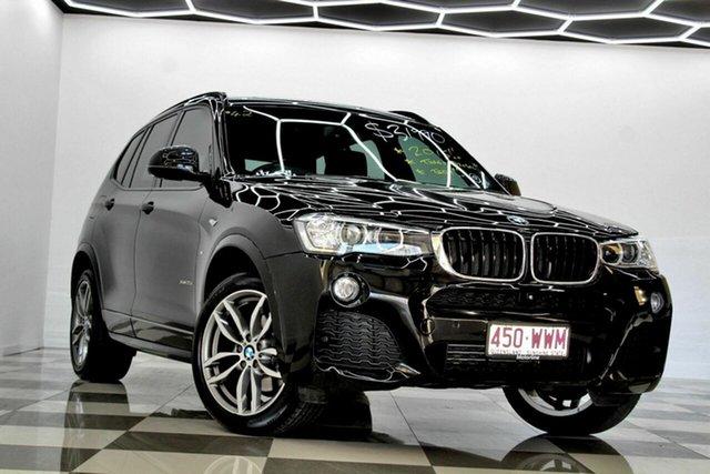 Used BMW X3 F25 MY17 xDrive 20I Burleigh Heads, 2016 BMW X3 F25 MY17 xDrive 20I Black 8 Speed Automatic Wagon