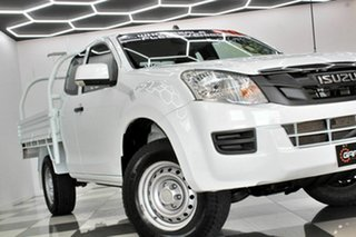 2015 Isuzu D-MAX TF MY15 SX (4x4) White 5 Speed Automatic Space Cab Chassis.