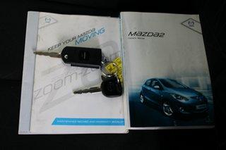 2012 Mazda 2 DE10Y2 MY12 Neo White 5 Speed Manual Hatchback.