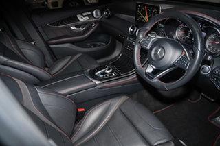 2017 Mercedes-Benz GLC-Class X253 GLC43 AMG 9G-Tronic 4MATIC Obsidian Black 9 Speed Sports Automatic.