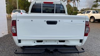 2007 Holden Rodeo RA MY07 LX (4x4) White 5 Speed Manual Dual Cab