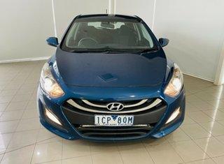 2014 Hyundai i30 GD Active Tourer Blue 6 Speed Sports Automatic Wagon.
