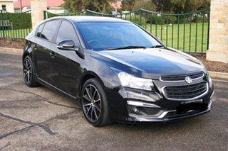 2015 Holden Cruze JH MY15 SRi V Black 6 Speed Manual Hatchback.