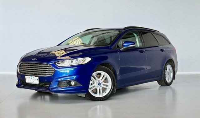 Used Ford Mondeo MD Ambiente Thomastown, 2016 Ford Mondeo MD Ambiente Blue 6 Speed Sports Automatic Dual Clutch Wagon