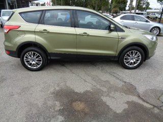 2014 Ford Kuga TF MY15 Ambiente 2WD Olive 6 Speed Sports Automatic Wagon.