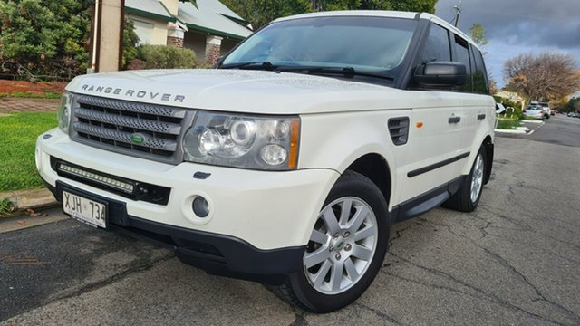 Used Land Rover Range Rover Sport 2.7 TDV6 Prospect, 2006 Land Rover Range Rover Sport 2.7 TDV6 White 6 Speed Auto Sequential Wagon