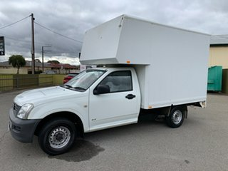 2005 Holden Rodeo RA DX White 5 Speed Manual Cab Chassis