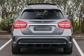 2015 Mercedes-Benz GLA-Class X156 805+055MY GLA45 AMG SPEEDSHIFT DCT 4MATIC Mountain Grey 7 Speed