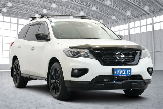 Used Nissan Pathfinder R52 Series II MY17 ST-L X-tronic 2WD N-SPORT Victoria Park, 2018 Nissan Pathfinder R52 Series II MY17 ST-L X-tronic 2WD N-SPORT White 1 Speed Constant Variable