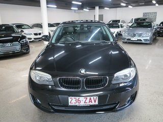 2012 BMW 1 Series E82 LCI MY0312 120i Steptronic Black 6 Speed Sports Automatic Coupe