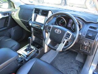 2012 Toyota Landcruiser Prado KDJ155R ZR Blue 5 Speed Sports Automatic Wagon.