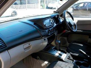 2014 Mitsubishi Triton MN MY15 GLX 4x2 Black 4 Speed Sports Automatic Cab Chassis