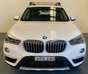 2017 BMW X1 F48 sDrive18d Steptronic Alpine White 8 Speed Sports Automatic Wagon.