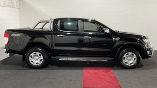 2017 Ford Ranger PX MkII XLT Double Cab Black 6 Speed Sports Automatic Utility