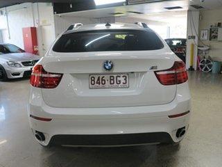 2012 BMW X6 E71 MY12 xDrive30d Coupe Steptronic White 8 Speed Sports Automatic Wagon