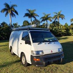 2008 Mitsubishi Express SJ M07 MWB White 5 Speed Manual Van.