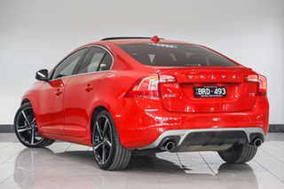 2015 Volvo S60 F Series MY15 T5 Adap Geartronic R-Design Red 8 Speed Sports Automatic Sedan.