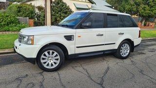 2006 Land Rover Range Rover Sport 2.7 TDV6 White 6 Speed Auto Sequential Wagon.