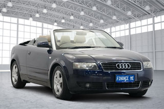 2005 Audi A4 B6 MY05 Multitronic Blue 1 Speed Constant Variable Cabriolet.