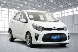 2018 Kia Picanto JA MY18 S Clear White 4 Speed Automatic Hatchback.
