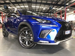 2018 Lexus NX300 AGZ10R MY17 F-Sport (FWD) Blue 6 Speed Automatic Wagon.