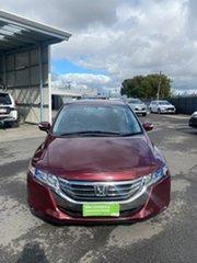2013 Honda Odyssey 4th Gen MY13 Red 5 Speed Sports Automatic Wagon.
