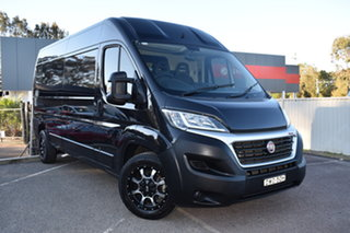 2018 Fiat Ducato Series 6 Low Roof MWB Comfort-matic Black 6 Speed Sports Automatic Single Clutch.