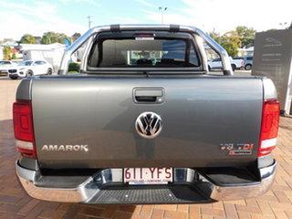 2017 Volkswagen Amarok 2H MY18 TDI550 4MOTION Perm Highline Indium Grey Lr7h 8 Speed Automatic